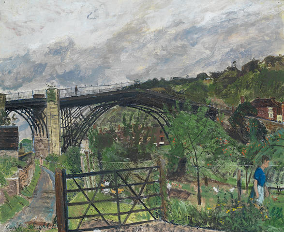 Carel Weight R.A. (British, 1908-1997) Ironbridge