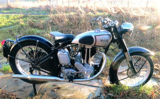 c.1952 Norton 490cc Model 18 Frame no. G3 4464 Engine no. D4 23349