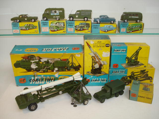 Corgi Military vehicles 10