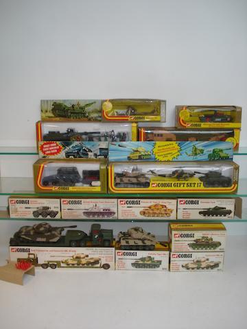 Corgi Tanks and Military vehicles 18