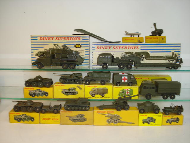 French Dinky Military vehicles 18