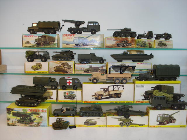 French Dinky Military vehicles 19