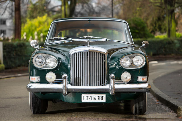 1964 Bentley S3 Continental Coupé Chassis no. 58CBC