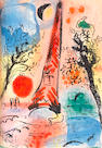 Marc Chagall (Russian/French, 1887-1985) Lithographe I-IV Four volumes, 1960-1974, comprising 20 lithographs printed in colours, volumes I-III with the text in English, volume IV with the text in French, printed by Mourlot Freres, Paris, bound in boards, in the original lithographed paper wrappers, three in protective slipcases, overall 325 x 250mm (12 3/4 x 9 3/4in)(4)(vol)