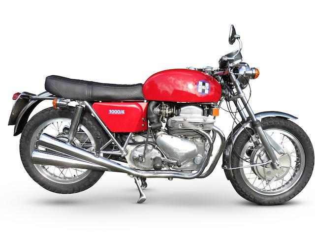 1975 Healey 1000/4 Frame no. HEA105 Engine no. CNML1825JH