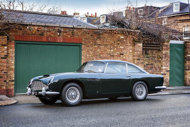 Single family ownership since 1973,1965 Aston Martin DB5 Sports Saloon  Chassis no. DB5/2026/R Engine no. 400/1823