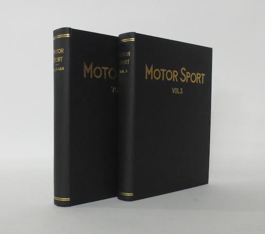 Motor Sport; Volume 3 and Volume 4/5,