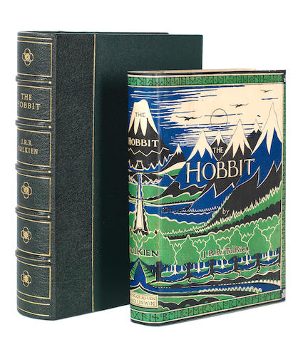 TOLKIEN (J.R.R.) The Hobbit or There and Back Again, FIRST EDITION, FIRST IMPRESSION, in a restored first issue dust-jacket, George Allen & Unwin, 1937