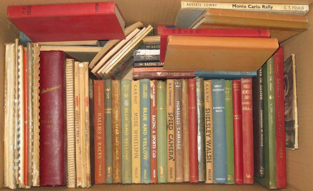 Books relating to pre and post-War racing,