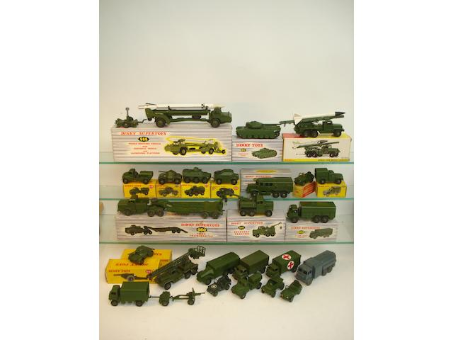 Dinky Military vehicles 27