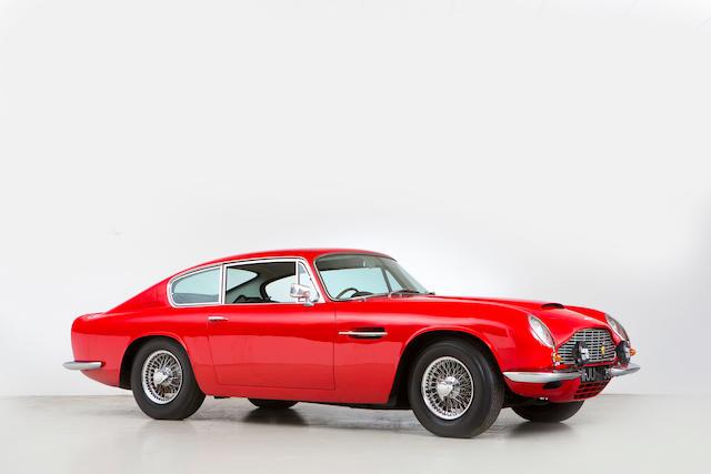 1970 Aston Martin DB6 Mk2 Sports Saloon  Chassis no. DB6MK2/4290/R Engine no. 400/4686