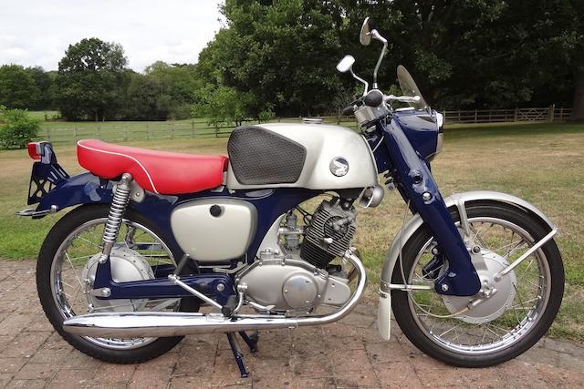 c.1961 Honda 125cc CB92 Benly Super Sport Engine no. 2101306