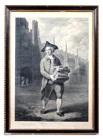 BIBLIOPOLA - NICHOLSON (JOHN) Mappesiani bibliopolii, Cambridge, John Nicholson, 1790