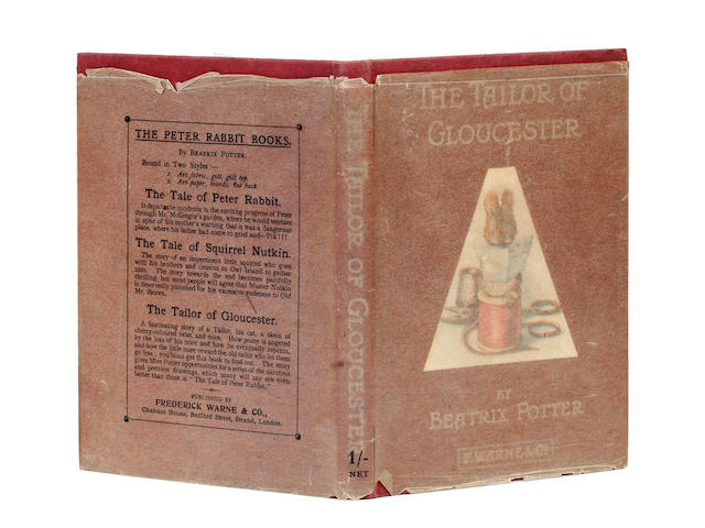POTTER (BEATRIX) The Tailor of Gloucester, FIRST EDITION, Frederick Warne, 1903