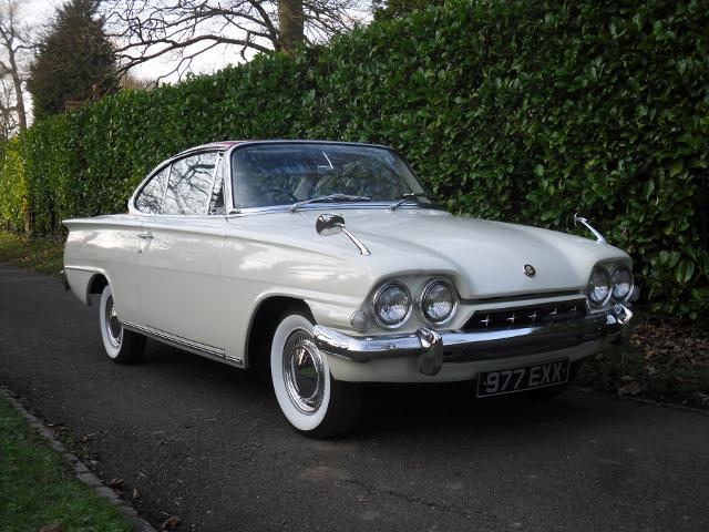 1962 Ford Consul Capri Coupé Chassis no. 238B-148800 Engine no. 116E 8656
