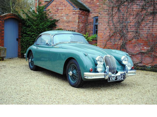 1959 Jaguar XK150 3.8-Litre Coupé Chassis no. S824851DN