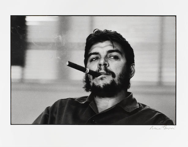 BURRI (RENÉ) René Burri Photographs, NUMBER 69 OF 100 SPECIALLY BOUND COPIES, WITH A SIGNED SILVER GELATIN PRINT OF CHE GUEVARA, Phaidon, 2004