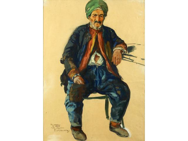 Yevgeni Lanceray (Russian, 1875-1946) The Armenian