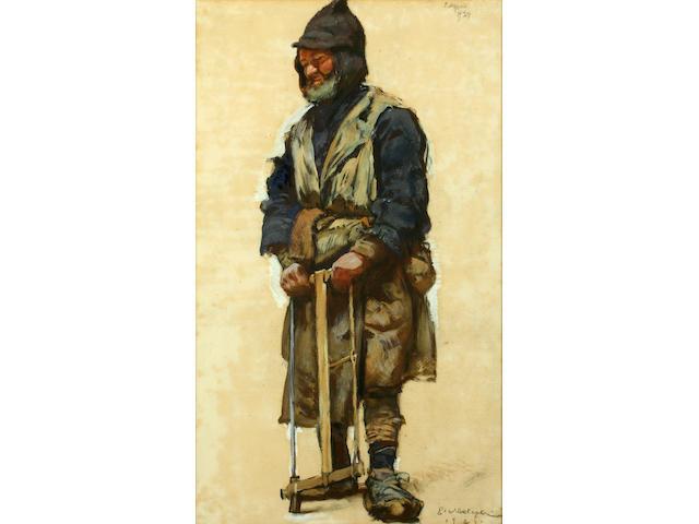 Yevgeni Lanceray (Russian, 1875-1946) The Farmworker
