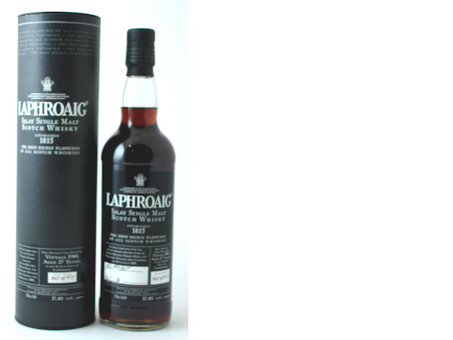 Laphroaig-27 year old-Vintage 1980