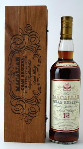 The Macallan Gran Reserva-18 year old-1979