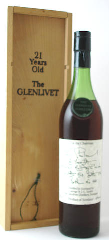 The Glenlivet Chairman's Reserve-21 year-old-1963