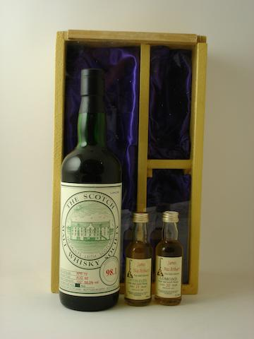 SMWS 98.1Lomond-20 year old-1973Inverleven-21 year old-1966