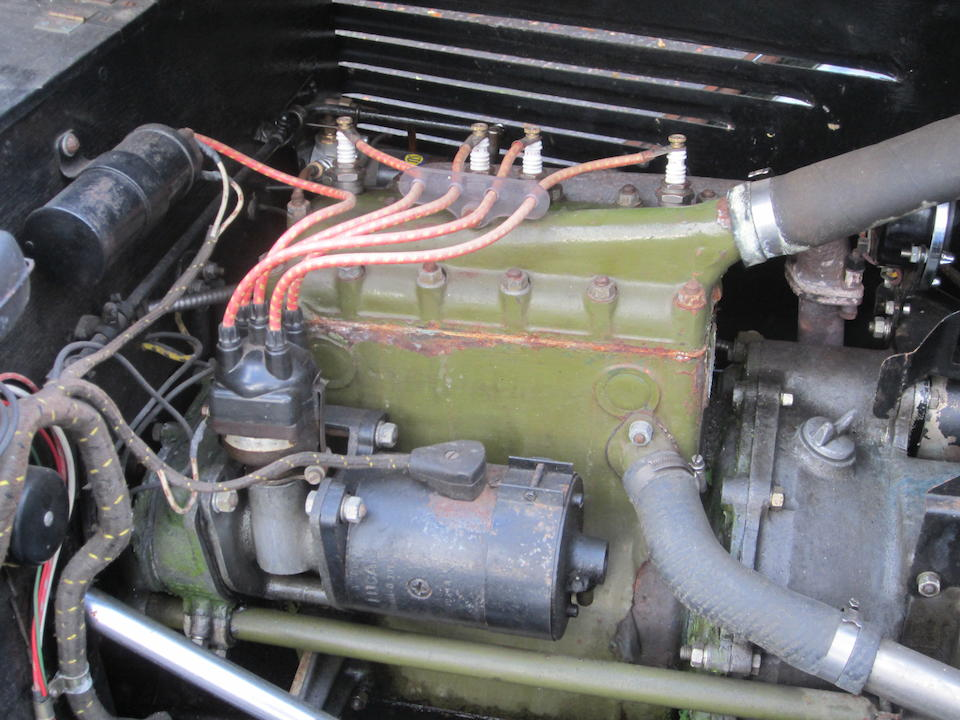 1935 BSA Scout Series 1 Sports Chassis no. B522 Engine no. A519
