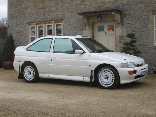 Ex-Carlos Sainz,1994 Ford Escort Cosworth Works Rally Car Chassis no. WFOBXXGKABRL 92667 Engine no. RL 92667