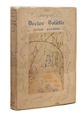 LOFTING (HUGH) The Story of Doctor Dolittle, first edition, New York, Frederick A. Stokes Company, 1920