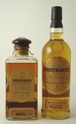 Knockando Extra Old Reserve-1962Knockando-1971