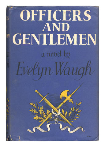 "WAUGH (EVELYN) Officers and Gentlemen, FIRST EDITION, AUTHOR'S PRESENTATION COPY, INSCRIBED ""For David & Tamara with love from Evelyn"", Chapman & Hall, 1955"