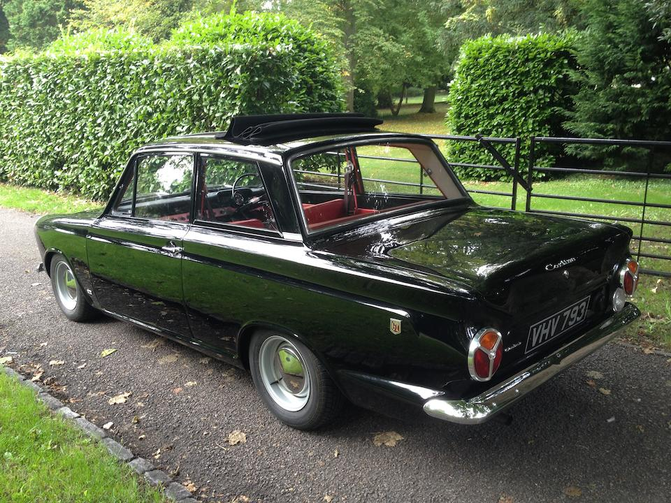 1963 Ford Ford Cortina GT Deluxe Sports Saloon Chassis no. Z77B221683 Engine no. 118EB631937