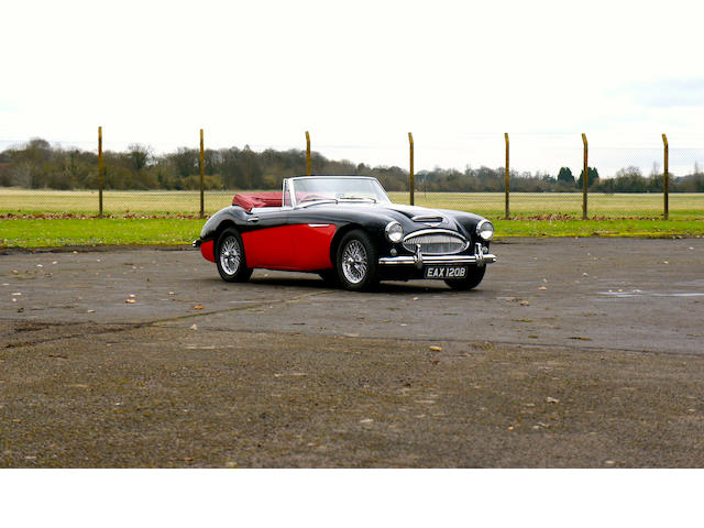 1964 Austin-Healey 3000 MkIIA Convertible Chassis no. HBJ7L-20570 Engine no. 29FRDH-1645