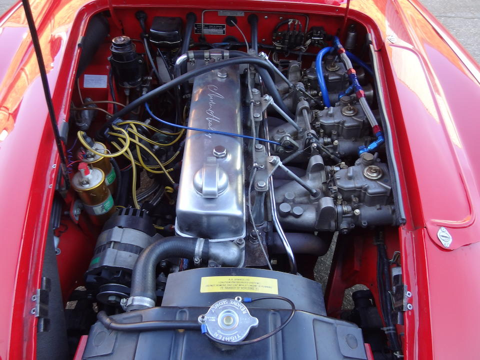 1959 Austin-Healey 100/6 BN6 3.0-Litre Lightweight Works Replica Rally Car Chassis no. BN6/4334 (see text) Engine no. 290/U/H18342
