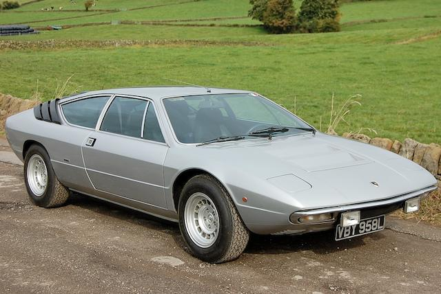 Left-hand Drive,1973 Lamborghini Urraco P250S Coupé  Chassis no. DGM111320M15302 Engine no. 15302