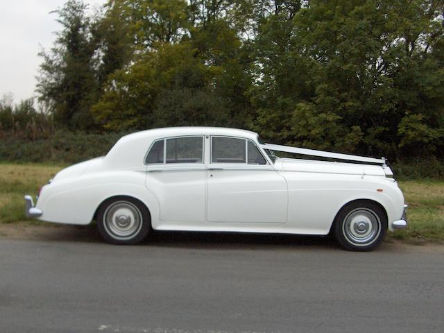 1960 Rolls-Royce Silver Cloud II Saloon Chassis no. SRA259 Engine no. 292AS