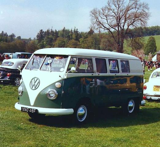 Property of a deceased's estate,1967 Volkswagen Type 2 Devon Caravette Camper Van Chassis no. 084818 Engine no. 0760279