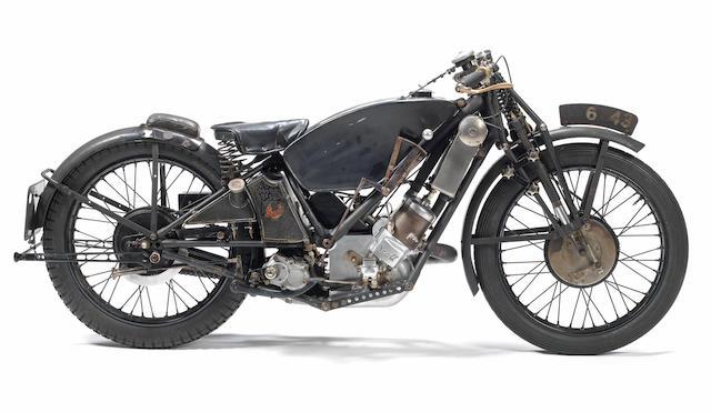 Ex-Phil Vare, Isle of Man Senior TT, Works, 1929 Scott 596cc Racing Motorcycle Frame no. 7M Engine no. RZ 2513
