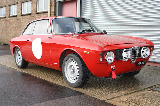 1964 Alfa Romeo Giulia Sprint GT Coupé Chassis no. AR 608377 Engine no. AR 005.02 00962