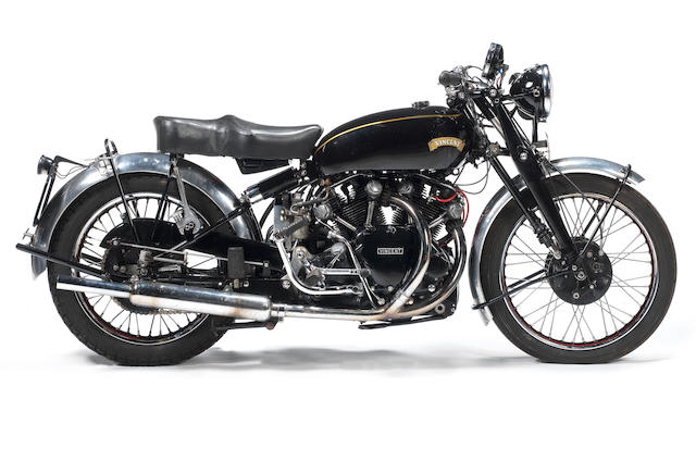 1953 Vincent 998cc Black Shadow Frame no. RC/11218/ Engine no. F10AB/1B/9318