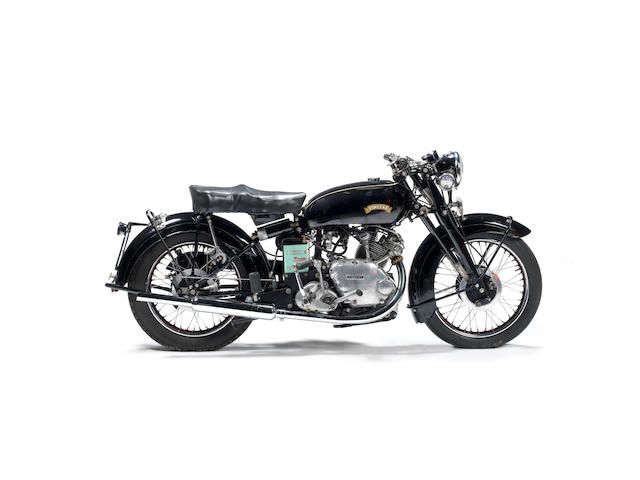 c.1950 Vincent 499cc 'Touring' Comet Frame no. Upper: RC/1/5782; Rear: RC/1/5782 Engine no. F5AB/2A/6376