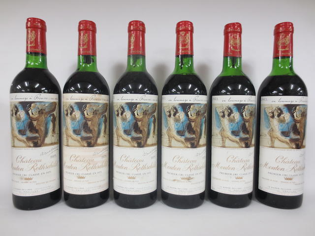Chateau Mouton Rothschild 1973 (6)