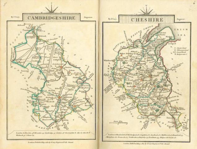 CARY (JOHN) Cary's Traveller's Companion, John Cary, 1810