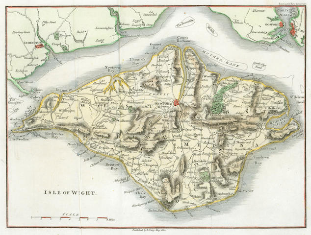 BRITISH ISLES - CARY (JOHN) Isle of Wight, 1812--RAPKIN (JOHN) Channel Islands, [c. 1851]--WELLER (EDWARD) The Isle of Man, [1863]; and upwards of 200 others, nineteenth century (quantity)