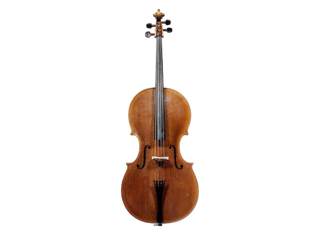 A fine English Cello by Joseph Hill, London circa 1770 (2)