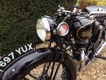 1932 Velocette 249cc GTP Frame no. B3110 Engine no. GA14334