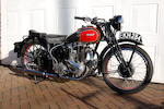 1938 Ariel 499cc Red Hunter Frame no. X 62920 Engine no. CD 1630