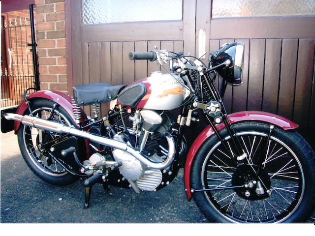 1939 Panther 249cc Redwing Model 70 Engine no. D6203
