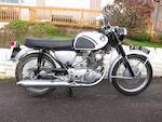 1965 Honda 250cc CB72 Frame no. CB72 103802 Engine no. CB72E 103865